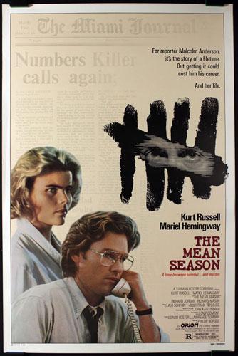 The Mean Season Movie Poster
