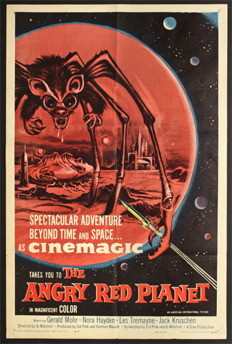 The Angry Red Planet Movie Poster