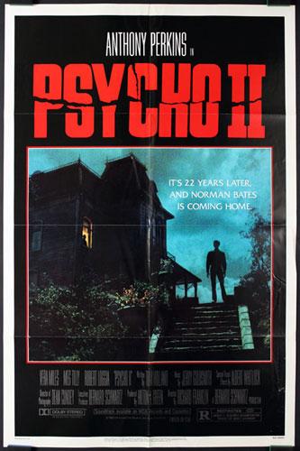 Psycho II (Psycho 2) Movie Poster