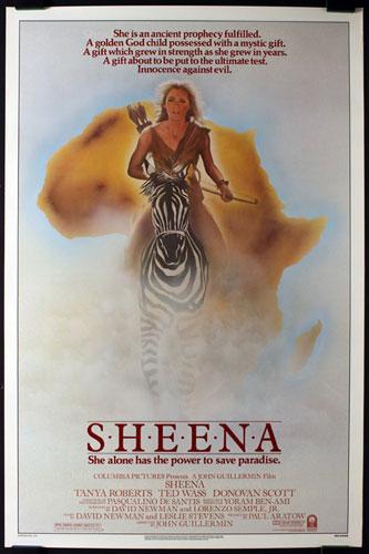 Sheena Movie Poster