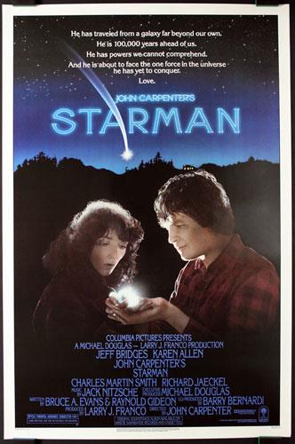 Starman Movie Poster