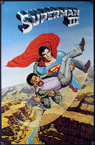 Superman III (Superman 3) Movie Poster