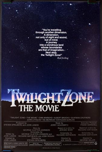 Twilight Zone - The Movie Movie Poster