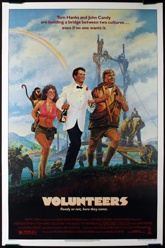 Volunteers Movie Poster
