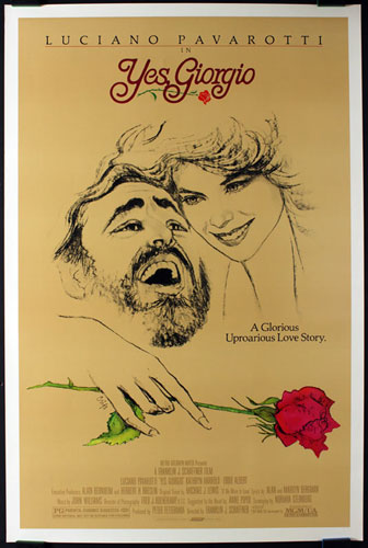 Yes Giorgio Movie Poster