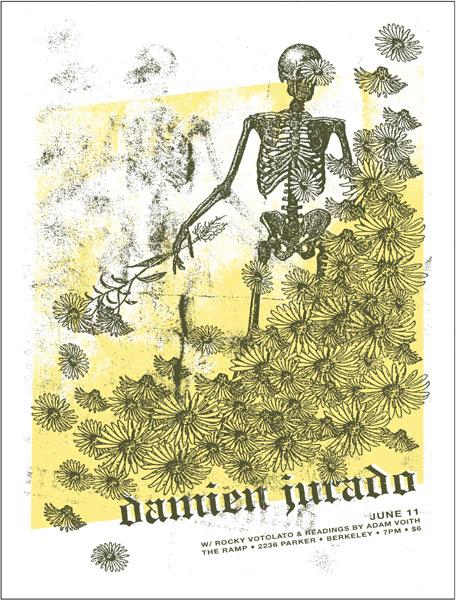 Jason Munn - The Small Stakes Damien Jurado Poster