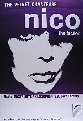 Nico Camera Obscura German Tour Poster