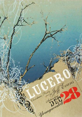 Nocturnal Showprint Lucero Poster