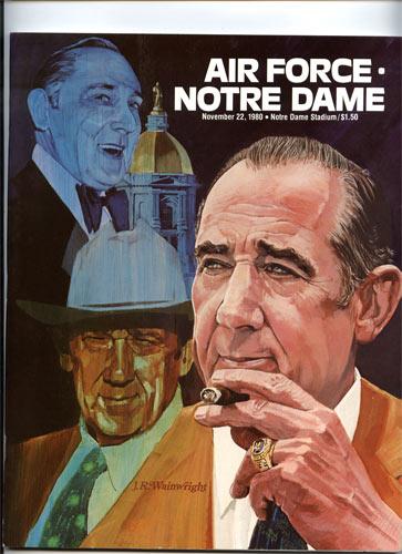1980 Notre Dame vs Air Force College Football Program
