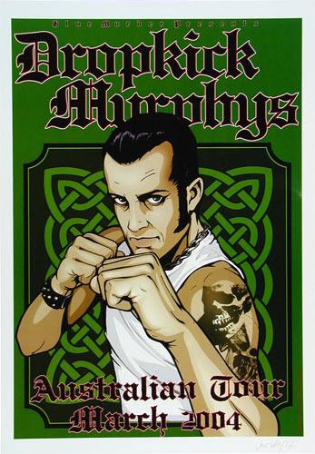 Joe Whyte Dropkick Murphys Poster