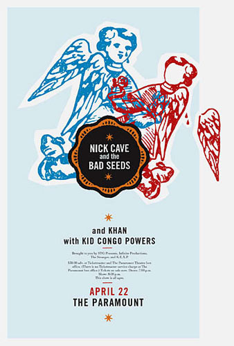 Patent Pending - Jeff Kleinsmith Nick Cave And The Bad Seeds Poster