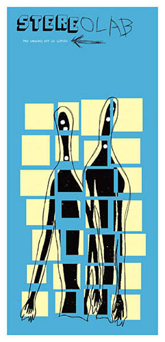 Patent Pending - Jeff Kleinsmith Stereolab Poster