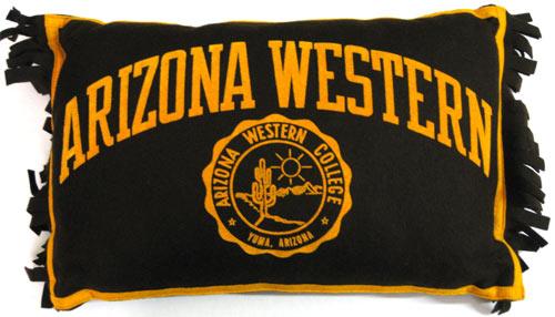 Arizona Western College Pillow