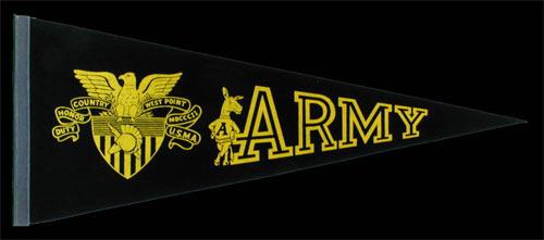 Army Black Knights USMA West Point Pennant
