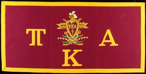 Pi Kappa Alpha Greek Fraternity Banner