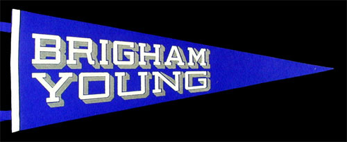 Brigham Young University Cougars Pennant
