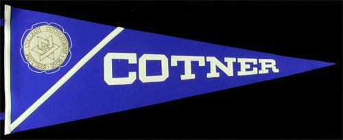 Cotner College Pennant