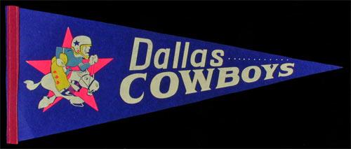 Dallas Cowboys Pennant
