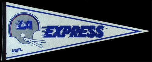 LA Express USFL Pennant
