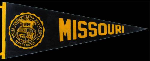 University of Missouri Pennant