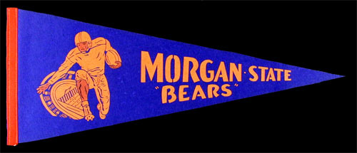 Morgan State Bears Football Pennant