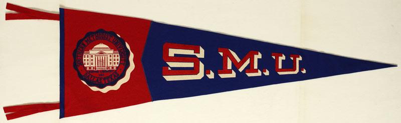 Southern Methodist University Pennant