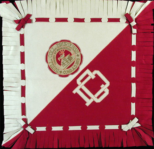 Drury College Pillow Cover