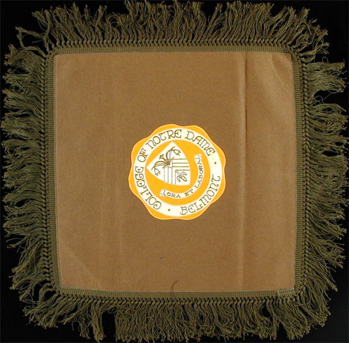 College of Notre Dame Belmont Pillow Cover