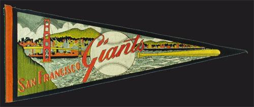 San Francisco Giants Pennant