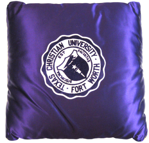 Texas Christian University TCU  Pillow