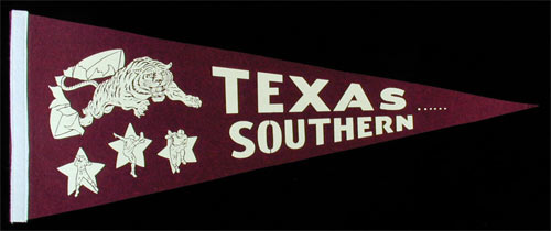 Texas Southern University Tigers Football Pennant