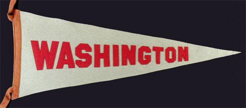 Washington State University Pennant