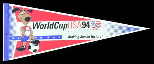 World Cup USA 1994 Soccer Pennant