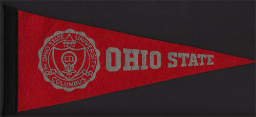 Ohio State University  Mini Pennant
