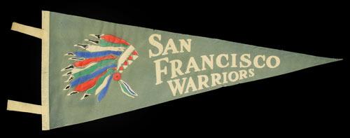 San Francisco Warriors Pennant