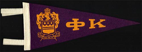Phi Kappa Fraternity Mini Pennant