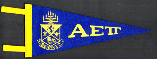 Alpha Epsilon Pi Fraternity Mini Pennant