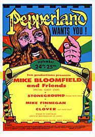 Mike Bloomfield, Clover Pepperland Handbill