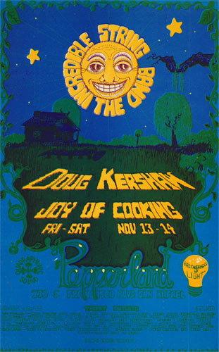 Perry Gorchov Incredible String Band Pepperland Handbill