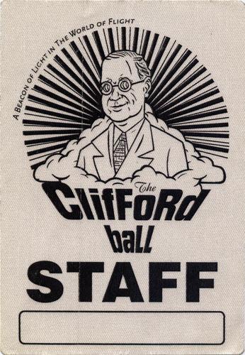 Phish Clifford Ball Backstage Pass
