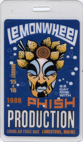 Phish Lemonwheel Laminate