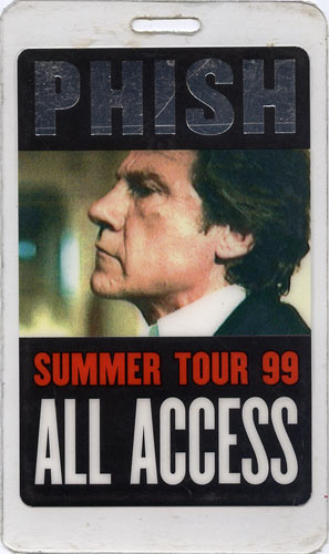 Phish Summer Tour 1999 Laminate