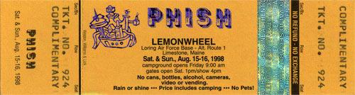Lemonwheel Ticket