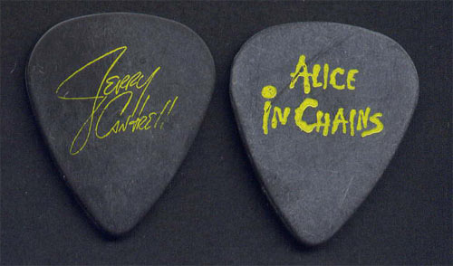 Alice In Chains Jerry Cantrell 1991 Guitar Pick
