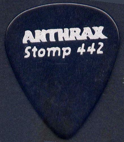 Anthrax Stomp 442 Guitar Pick