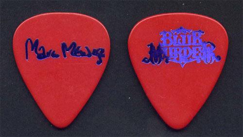 Blue Murder Marco Mendoza Guitar Pick
