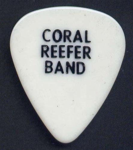 Jimmy Buffett Coral Reefer Band Guitar Pick