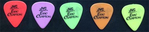 Eric Clapton Set of 5 Picks Guitar Pick