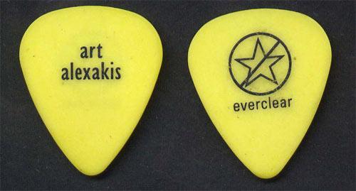 Everclear Art Alexakis Guitar Pick