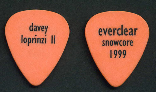 Everclear Davey Loprinzi II Guitar Pick